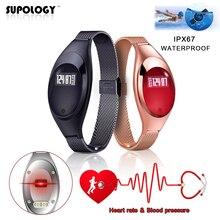 Новинка 2017 года спортивные Smart Band Z18 Водонепроницаемый браслет Приборы для измерения артериального давления сердечного ритма сна Мониторы Шагомер Bluetooth smartband для iOS