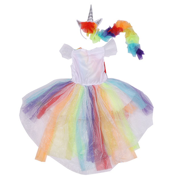 COLORFUL MAGICAL UNICORN DRESS KIDS