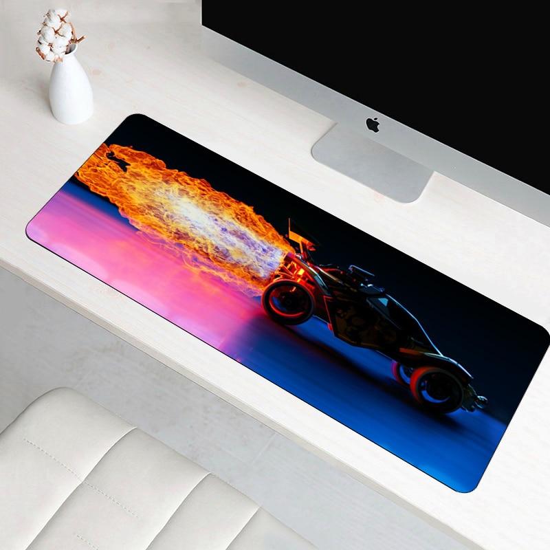 SIANCS 70x30 cm Anti-slip foguete grande liga mouse pad legal moda notbook XL mousepad mat grande gaming best seller PC secretária pad