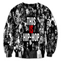 Alisister Hip Hop hoodie stylish men/women's sweatshirt print 2pac/marilyn monroe sweatshirts 3d painting casual sweat shirt