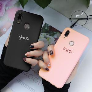 Image 1 - Różowa miękka TPU Fundas pokrywa dla Huawei Mate 20 10 Honor 8X 7X 7A 8 9 10 widok 20 Play P30 P10 P20 Pro Lite 2017 P Smart 2019 Case