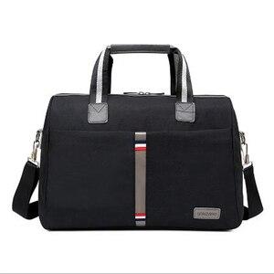 Image 1 - 2020 wodoodporna męska torba podróżna składane torby na ramię kobiety moda bagaż podróżny torba podróżna o dużej pojemności