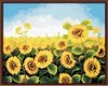 Frameless Flower Oil Painting By Numbers On Canvas Coloring Home Wall Decor DIY Digital Painting 40x50cm