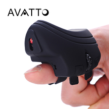 [ AVATTO ] Bluetooth Finger 3D Mini USB Optical Gaming Mouse Rechargeable Mice Handheld for Desktop Laptop PC Tablet Phone