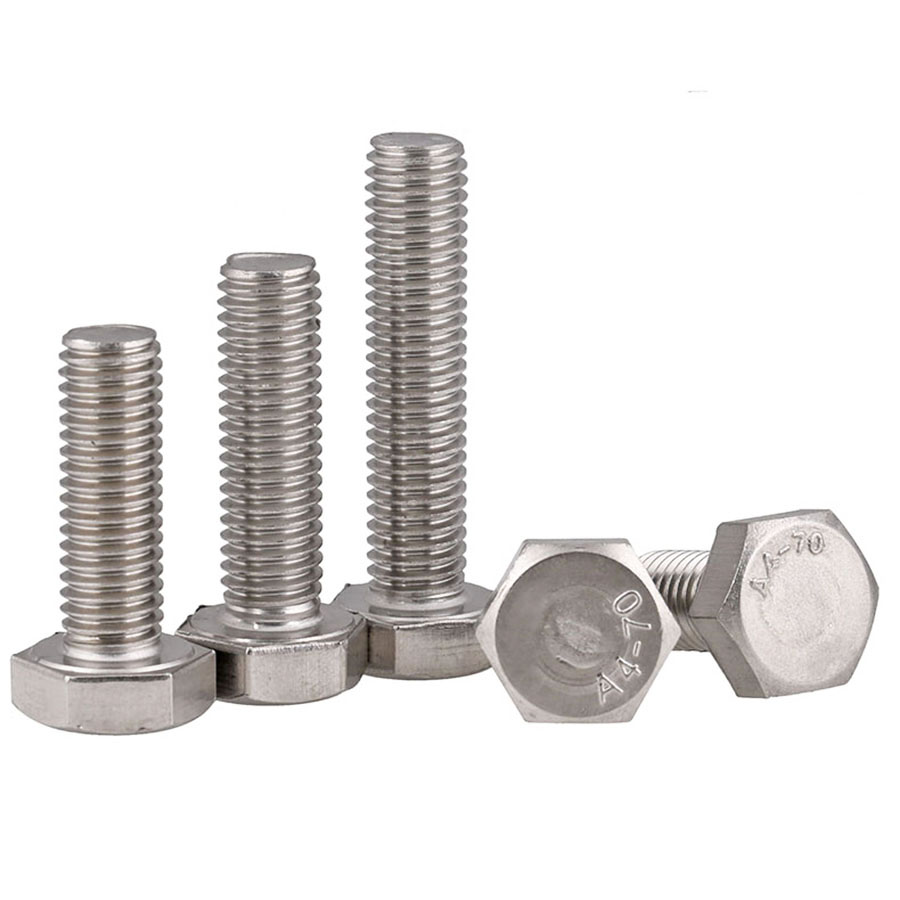 Machine Screws Part Flat Screw Part Fastener M6 Stainless Steel Threaded for Home Office Sheetrock for Wood