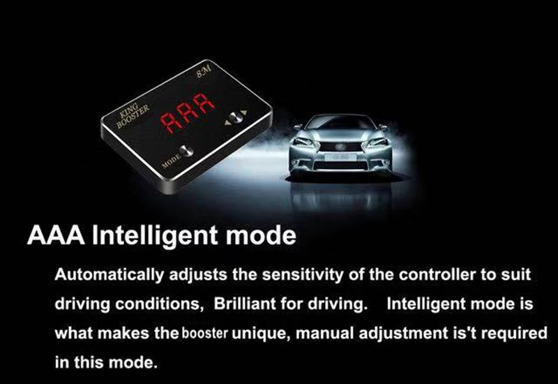 AAA auto mode pedal booster