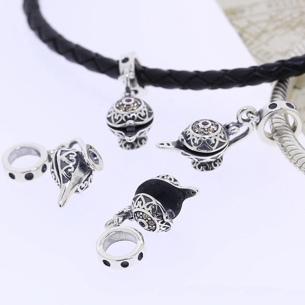 Sterling Silver Charms For Bracelets: Fits Pandora Charms Bracelet Original 925 Sterling Silver
