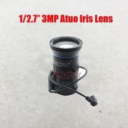 """3MP megapikseli HD 1/2. 7 """"5 50mm DC Auto Iris zmiennoogniskowy IR obiektyw CCTV CS do montażu na 2MP 3MP IP kamera Box darmowa wysyłka w Części do telewizji przemysłowej od Bezpieczeństwo i ochrona na"""