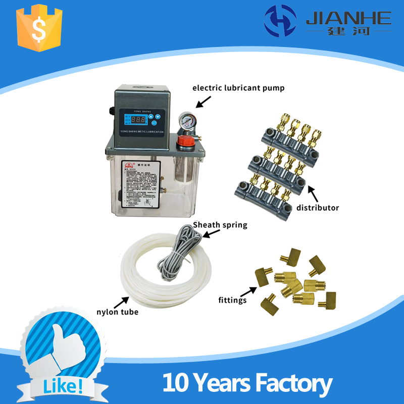 Full set central lubrication system with 13 Lubrication point BE2232 type Grease Lubrication Pump For CNC Machine