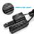 Rocketek Carro-Carregador Rápido, 7 usb smart carregador de carro 11a qc2.0 tomada splitter carro usb para iphone samsung e htc smart telefone