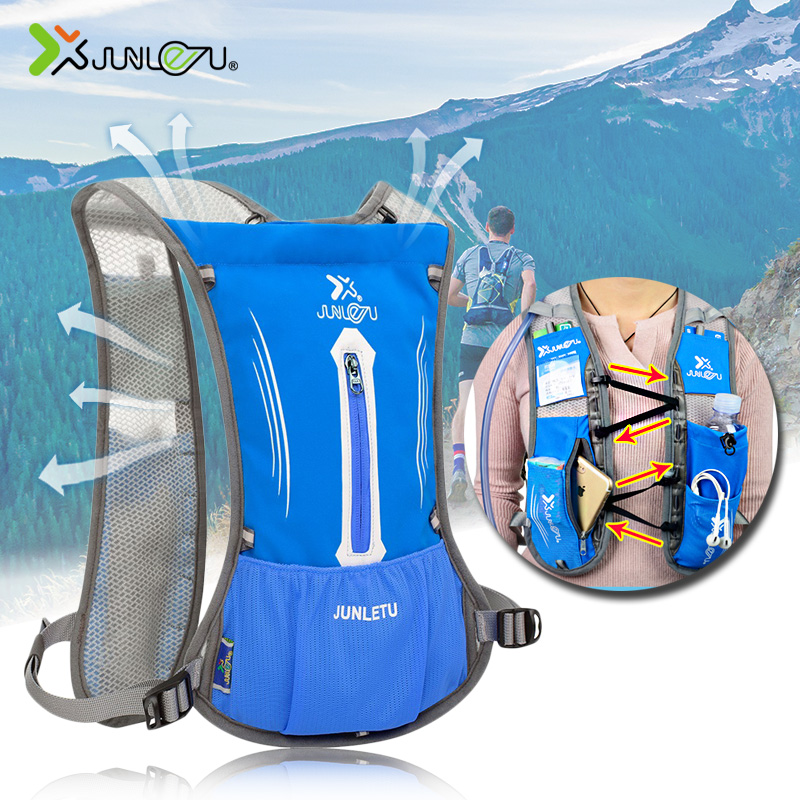 Men Women Nylon Vest Trail Running Backpack 190g Ultralight Marathon Fitness Hydration Sports Accessories Cycling Running Bags