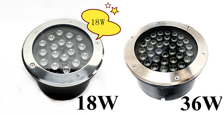 18W led underground light DC12V garden light Buried LAMP IP65,cool white/warm white,CE&RoHS Wholesale shipping 10pcs/lot 10pcs led deck light waterproof stainless steel recessed underground lamp dc12v spotlight stair pathway garden light