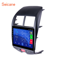 Seicane 10.1 inch Android 6.0 HD Touchscreen GPS car Radio Unit for 2010 2015 Mitsubishi ASX Peugeot 4008 support DVR 1080P DVD