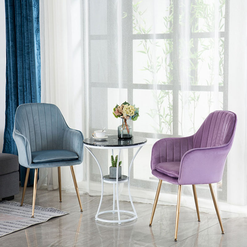 Stupendous Nordic Iron Dining Chair Modern Minimalist Dining Chair Gmtry Best Dining Table And Chair Ideas Images Gmtryco