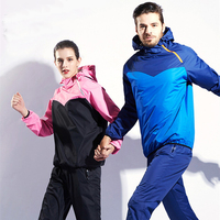 MMA Sauna Suit Running Non Rip Sweat Track Weight Loss Slimmimg Fitness Gym Exercise Training