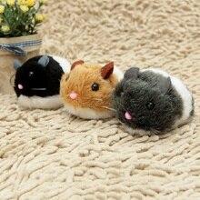 1 pc Cat Toys Pulling Chain Shock Shake Interactive Pet Cat Toys Rat Artificial fur