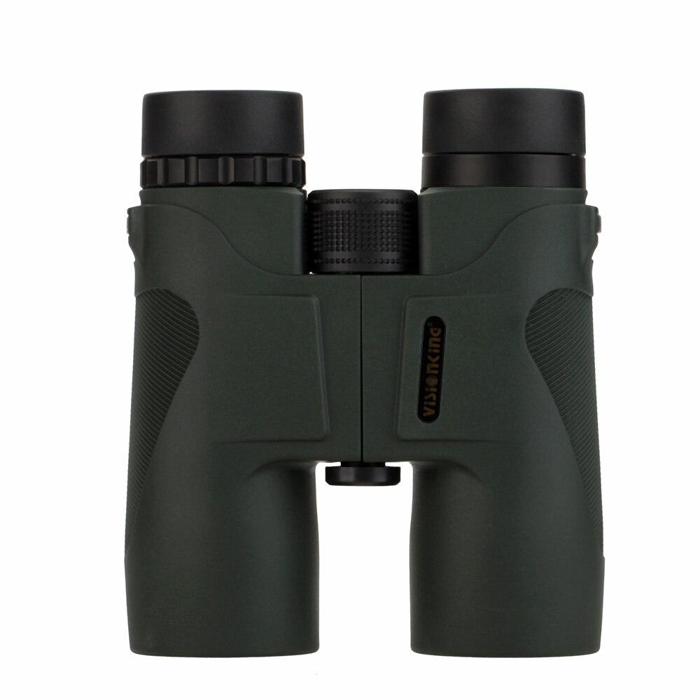 Visionking 10X42 Hunting Camping Roof Binocular Telescope Spotting Scope Binocular Lanyard Cleaning Cloth Carry Bag