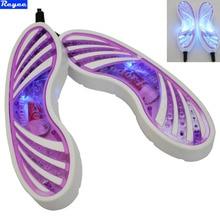 Freie Post 220 V 10 Watt Eu-stecker Schmetterling Form Voilet Licht Schuhtrockner Fußschutz Boot Geruch Deodorant Gerät Schuhe Trockner heizung
