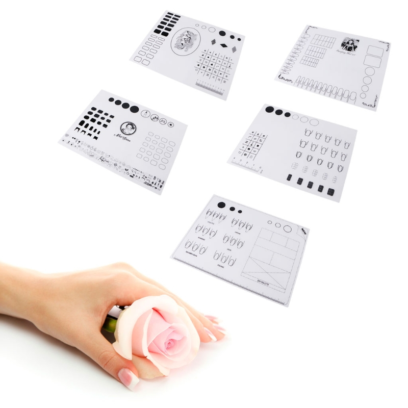 Decoración de uñas de silicona para colorear suave estera de ...