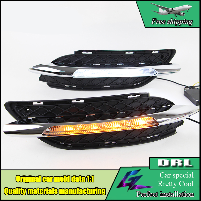Car Styling LED DRL Kit For Benz W246 B Class B180 B200 2011 2012 2013 2014 LED Bumper Daytime Running Lights Daylight car floor mats special made for mercedes benz w246 b class 160 180 200 220 b160 b180 b200 car styling case rugs liners 2012