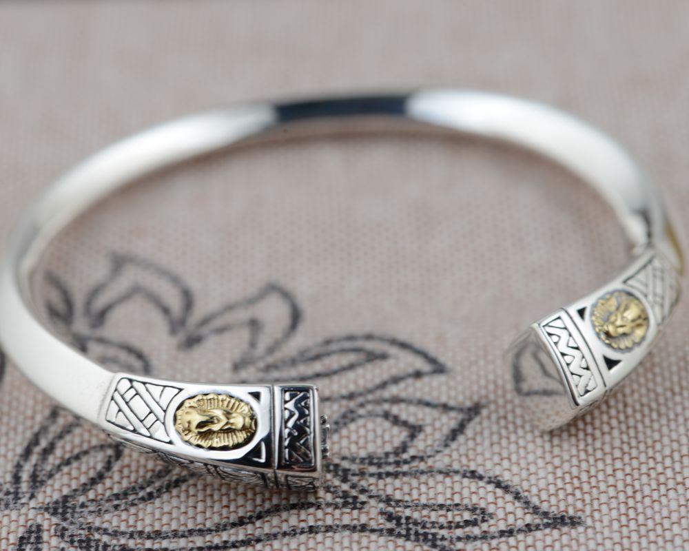 Wang Yinshi bracelet en argent en gros en argent sterling cerf S925 unique vierge Maria bijoux produitsWang Yinshi bracelet en argent en gros en argent sterling cerf S925 unique vierge Maria bijoux produits