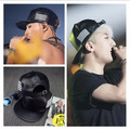 KPOP Hot Bigbang G-dragon GD Same Style Snapback PU Leather Hat Vocal Concert Support Fan Cap
