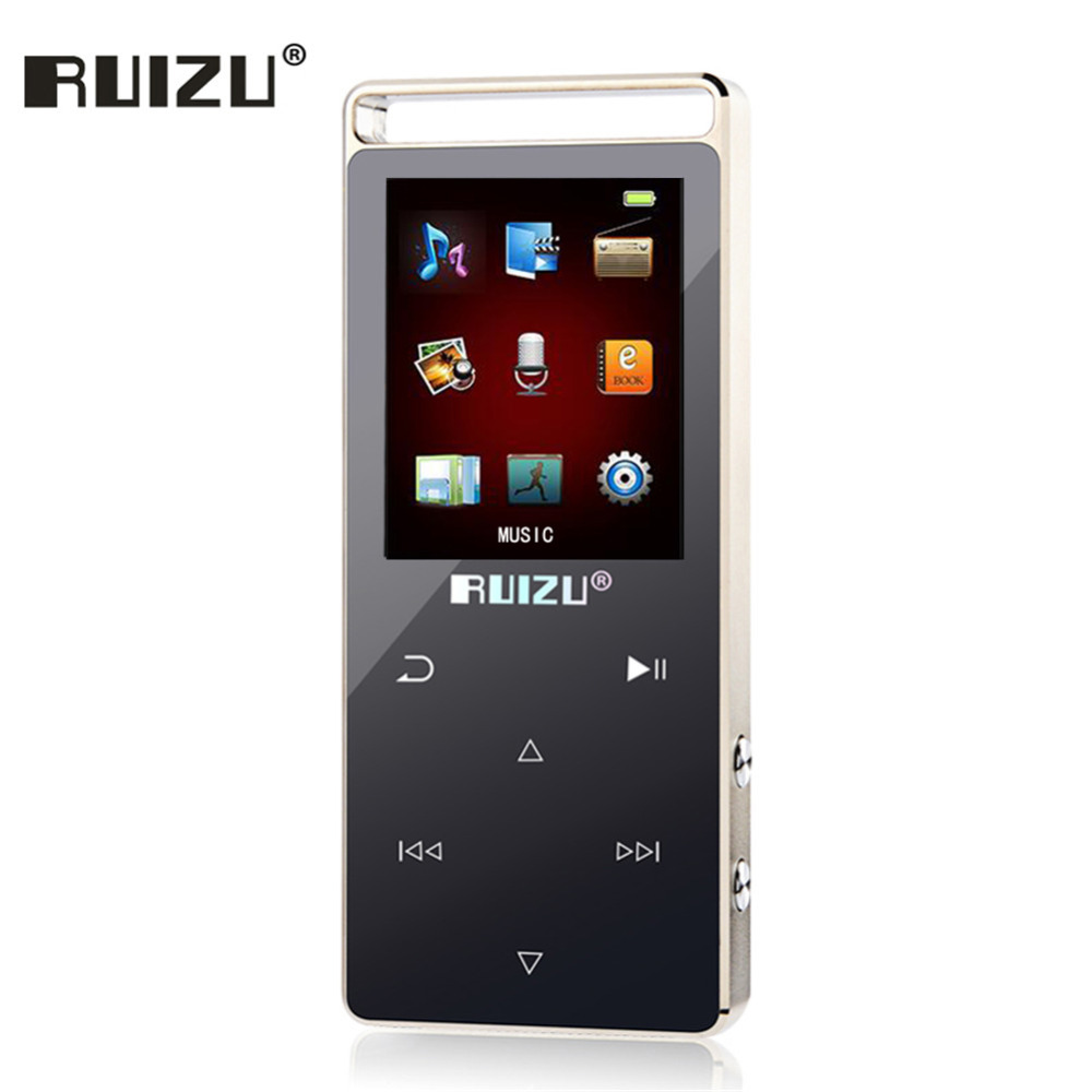 Original RUIZU D01 Ecran tactil Mp3 player Pedometru 8GB Cititor de - Audio și video portabile