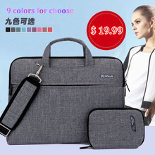 "Laptop Bag New Arrival kaLuSi Brand Waterproof handbag 11"" 13"" 15"" 17"" Notebook Computer Unisex Briefcase Shoulder Messenger Bag"