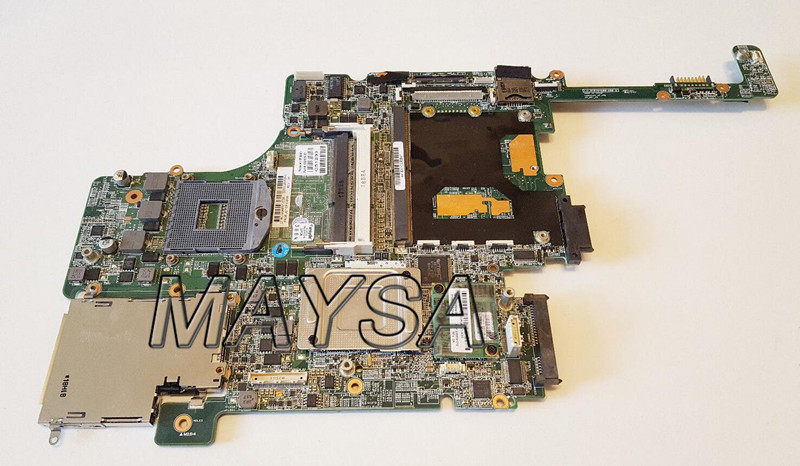 Free shipping 652638-001 Main board Fit For HP 8560p 8560w Series Laptop motherboard DDR3, 100% working free shipping for hp 8560w motherboard 652638 001 intel qm67 ddr3 green model 100
