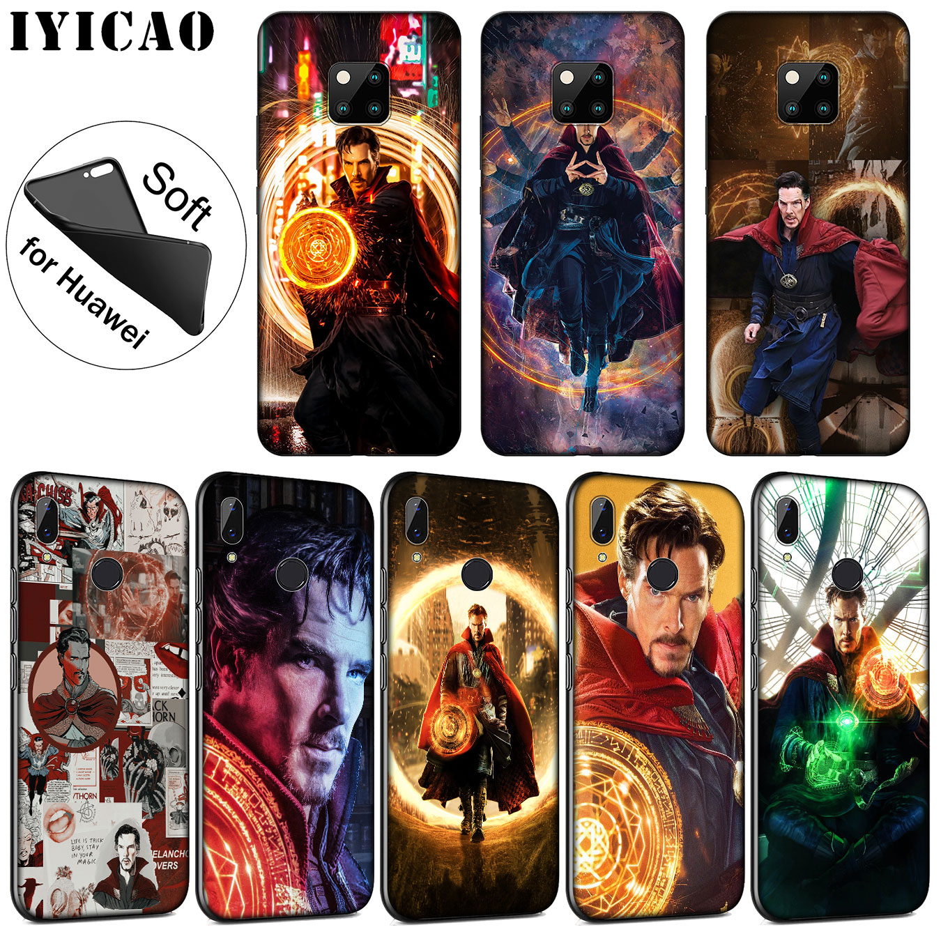 Fitted Cases Rational Iyicao Marvel Doctor Stephen Strange Soft Silicone Phone Case For Huawei Nova 3i 3 2i Tpu For Huawei Mate 20 10 Pro Lite Cover