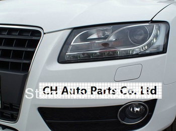 FREE SHIPPING,2008-2011 CHA A5 ANGEL EYE HEADLIGHT HEADLAMP, WITH LED DAYLIGHT AND BI-XENON PROJECTOR, FOR AUDI