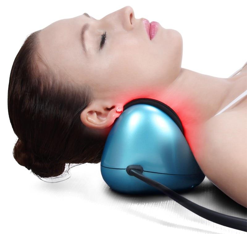 2017 New Home And Car Neck Massage Pillow Pneumatic Heating Massage
