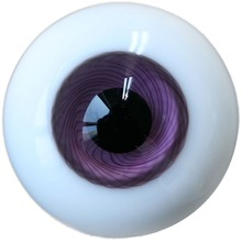 hot deal buy [wamami] 8mm purple eyes glass eyes outfit for dod msd luts dz bjd doll dollfie