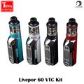 100% Original Yosta Livepor 60 VTC Kit 60W TC Box Mod Temp Control with 1500mAh Battery Vapor Mod e Cigarettes Body Mods