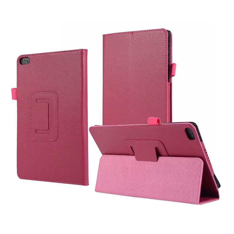 30PCS Lot Litchi Stand PU Leather Case For Lenovo Tab E8 E 8 0 TB8304 TB