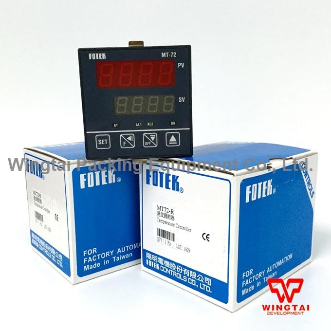 Taiwan FOTEK MT72-R Digital Temperature Controller made in taiwan fotek tc72 dd r3 digital temperature controllers