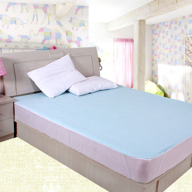 120*200cm 100% Cotton Baby Changing Mat Water Proof Bed Sheets TPU  Waterproof