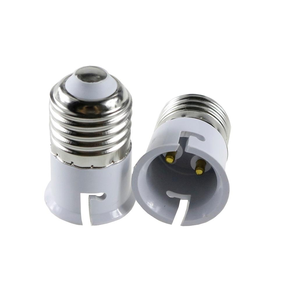 Led E27 To B22 Fireproof Material Lamp Holder Converter Socket Base Type Adapter Conversion Light Bulb Factory Direct Wholesale