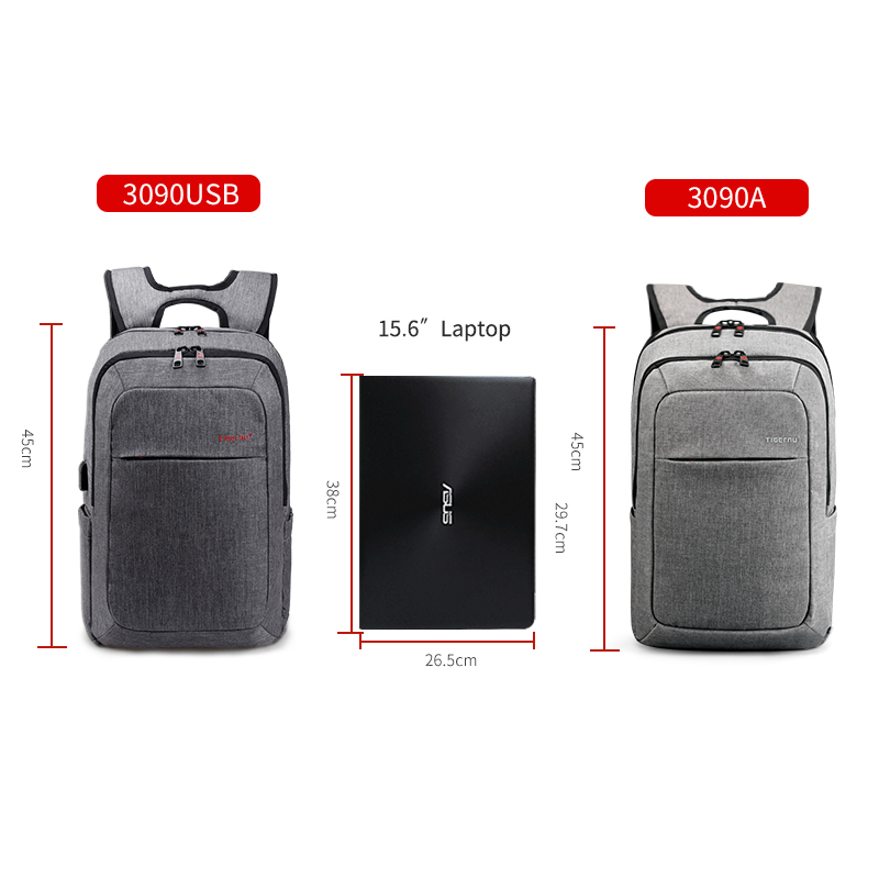 Backpack Waterproof Bag - Laptop Notebook for school, Men/Women 1