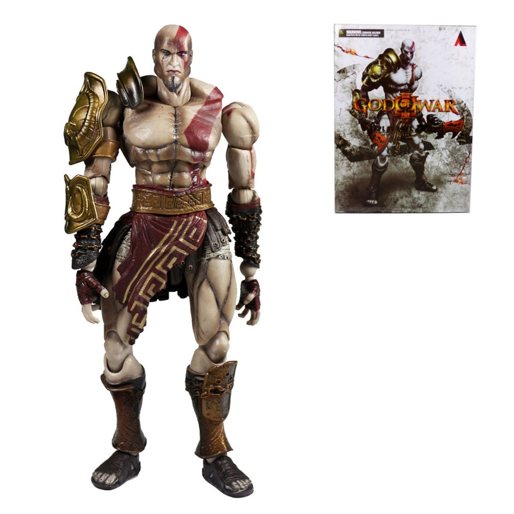 New Square Enix Variant Play Arts Kai God of War Action Figure PAK001020 god of war iii kratos play arts kai squareenix figure 10 ne001007