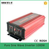 MKP1000 121R high efficiency 12vdc 110vac dc ac power inverter 1000 watt true sine inverter sales for home use power inverter