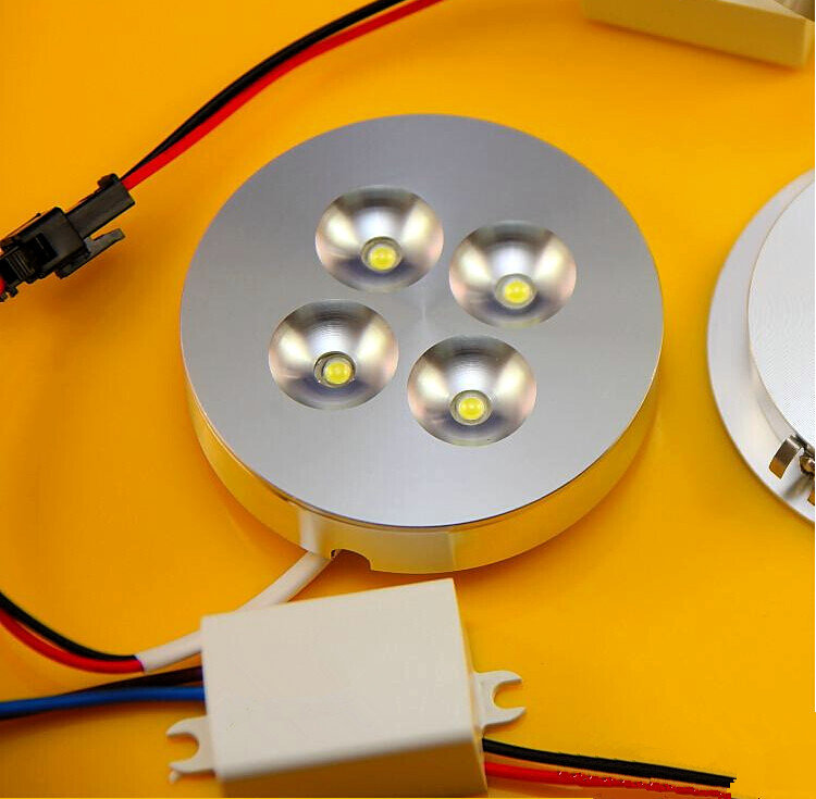 8pcs 12v dcac220v 4x1w dimmable led under cabinet light puck light 8pcs 12v dcac220v 4x1w dimmable led under cabinet light puck light warm whitenatural whitecool white for kitchen lighting in led bulbs tubes from aloadofball Image collections