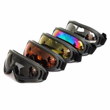 Snowboard okulary niekurzące się motocyklowe gogle narciarskie okulary ramka okulary Paintball Outdoor Sports wiatroszczelne okulary okulary tanie i dobre opinie Z poliuretanu Jazda na rowerze Unisex 19cm MULTI