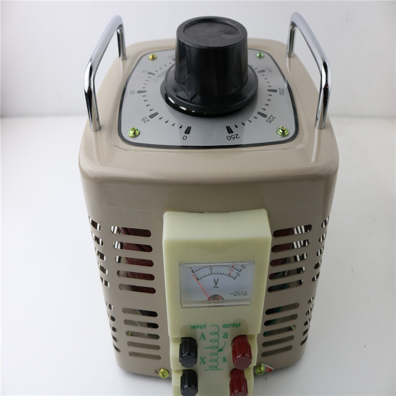 3000W Household single phase Voltage Regulators 0-250V is adjustable Transformer 3KVA new e000 22070 isolation transformer three phase isolation transformer pcb max 500v