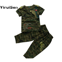 Camouflage Sports Teenage Boys Tracksuit For Boys Clothes For Boys T Shirt Short Pant Clothing 10
