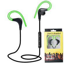 BT-1 Bluetooth 4.1 Earphone Sports Wireless Headphone SweatProof Bluetooth Headset Bass Earbuds With Mic For Phone iPhone Xiaomi(China)