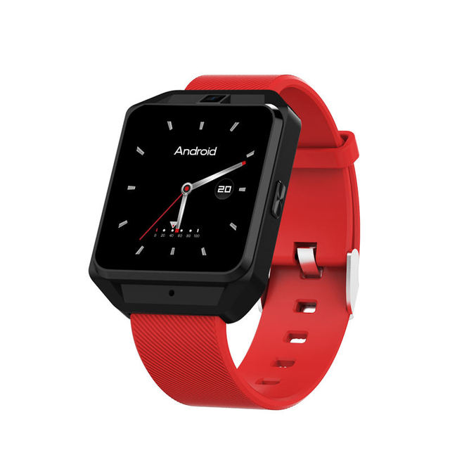 black red Smartwatch android 5c649caf6e5f9
