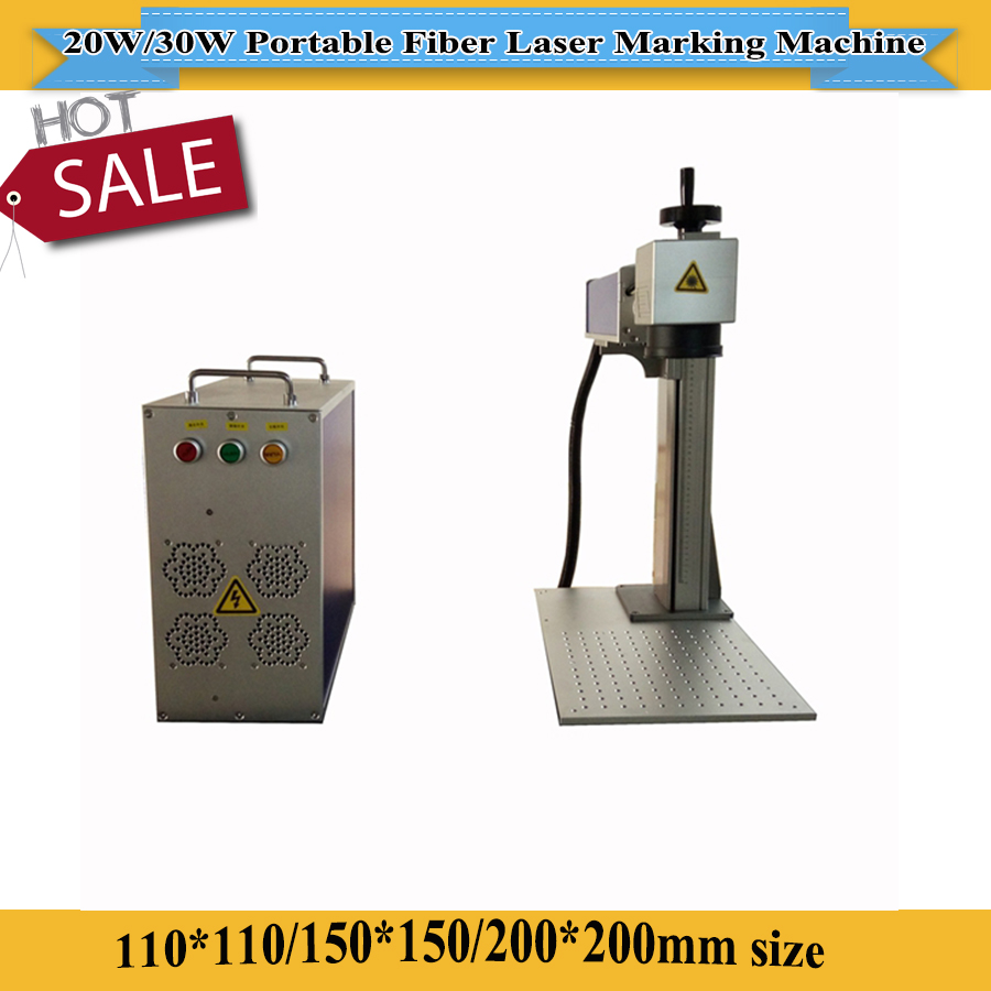 Goog Quality 20W/30W Metal Fiber Laser Marking Machine With Raycus /IPG Laser Brand Optional Factory Price For Sale