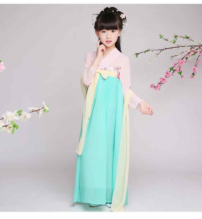 385c3f29c ... girls traditional chinese traditional tang hanfu dress child clothing  cosplay kids children fairy dance ancient chinese ...