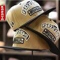 Comercio al por mayor de los hombres equipados dom masculina hueso visera recta chapeau snapback del casquillo de hiphop gorra de béisbol de nueva